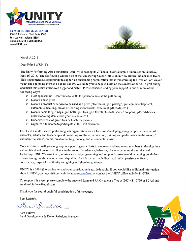 UNITY 2015 Golf Scramble Info-1